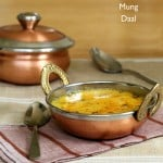 Split Mung Bean Soup – Mom's Simple Mung Dal with Garlic Chili Tadka. Vegan Glutenfree Recipe