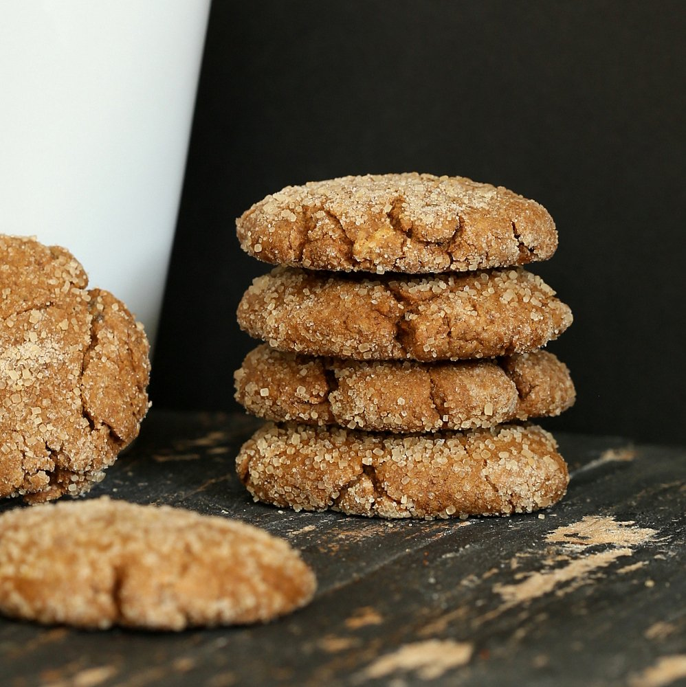 vegan triple ginger cookies | vegan richa