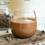 Vegan Mocha Milk Shake And Dark Chocolate Shake. 2 Shakes and a Giveaway. Glutenfree Recipe