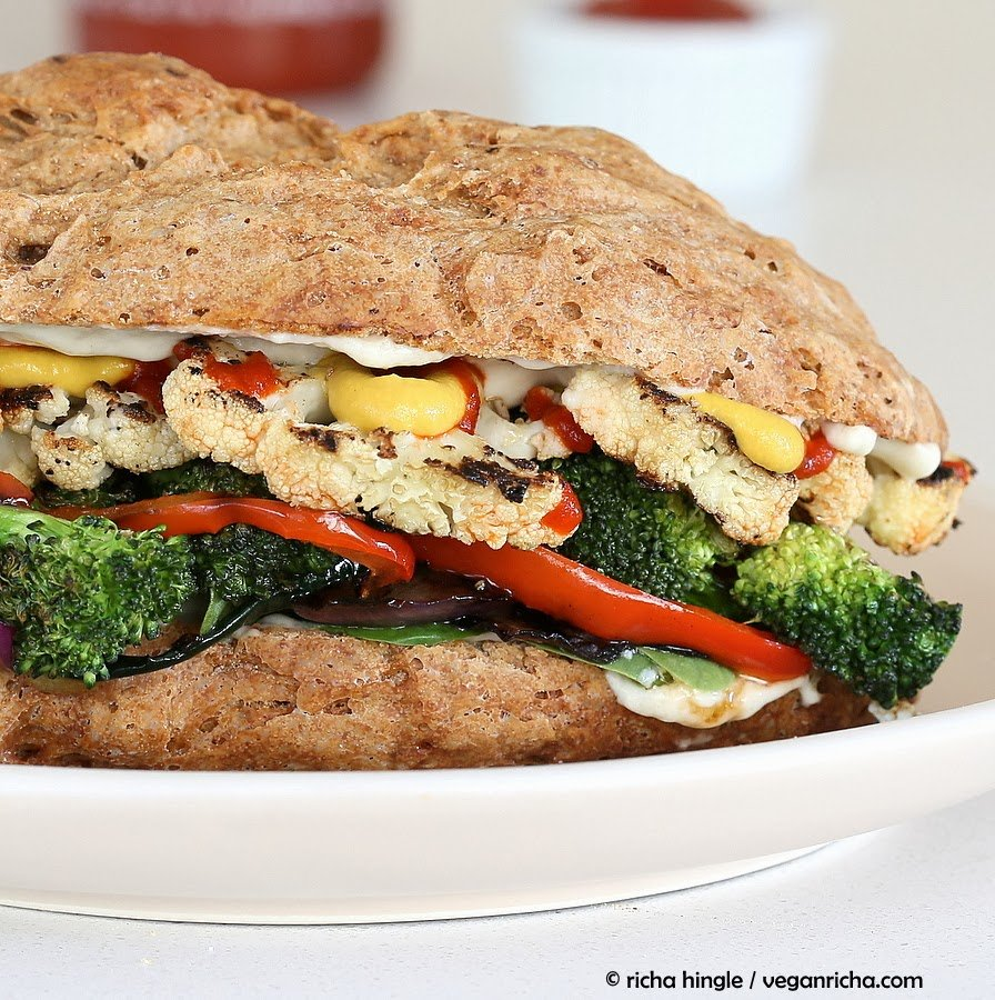The Ultimate Veggie Sandwich. Vegan Recipe - Vegan Richa