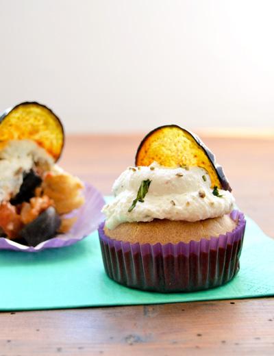 parmigiana cupcakes