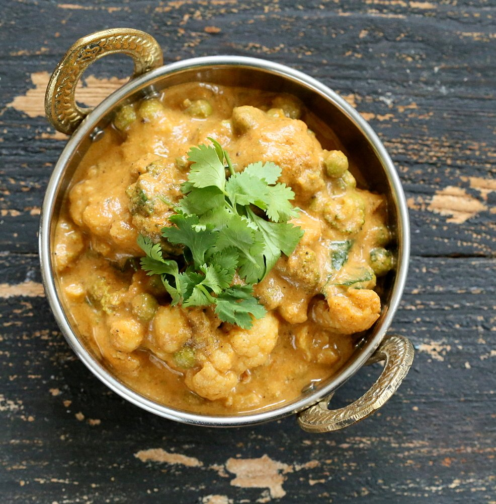 Cauliflower Makhani   Vegan Richa