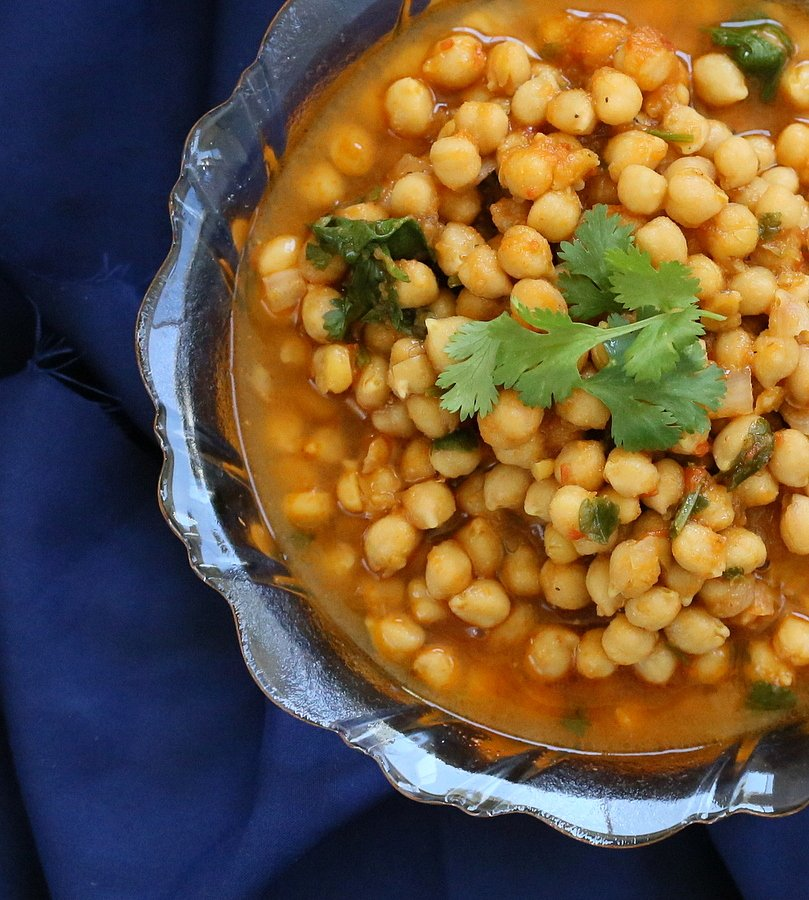Vegan Chickpea Curry | VeganRicha