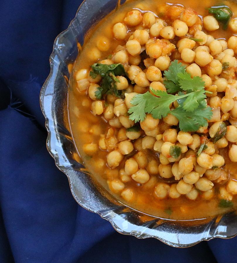 Vegan Chickpea Curry | VeganRicha