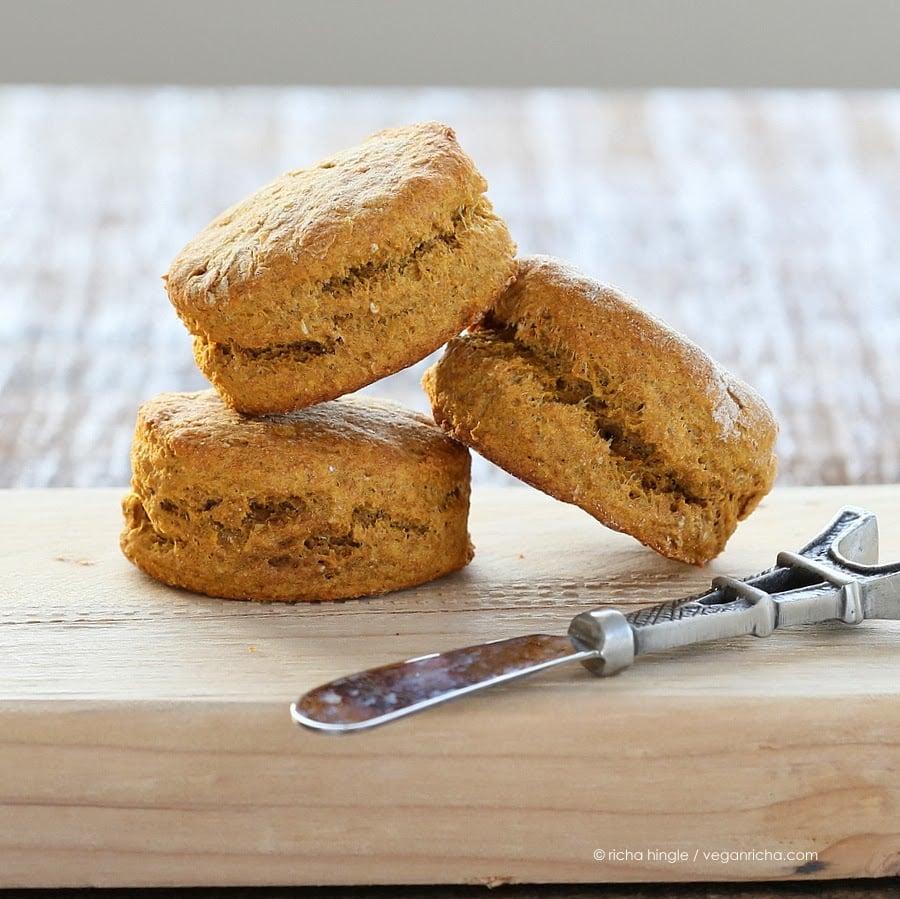 spelt sweet potato biscuits vegan recipe   vegan richa