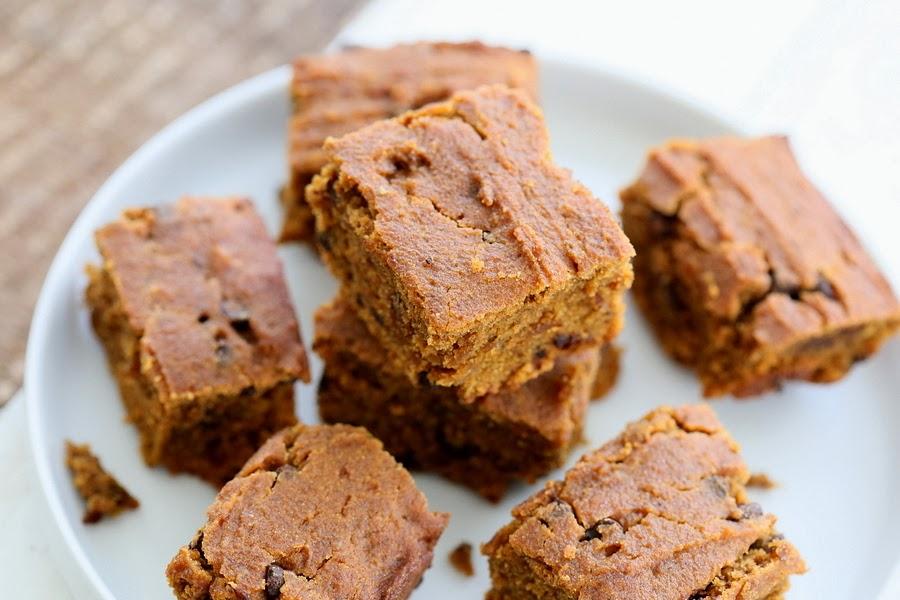 Gluten free Sweet Potato Blondies | Vegan Richa