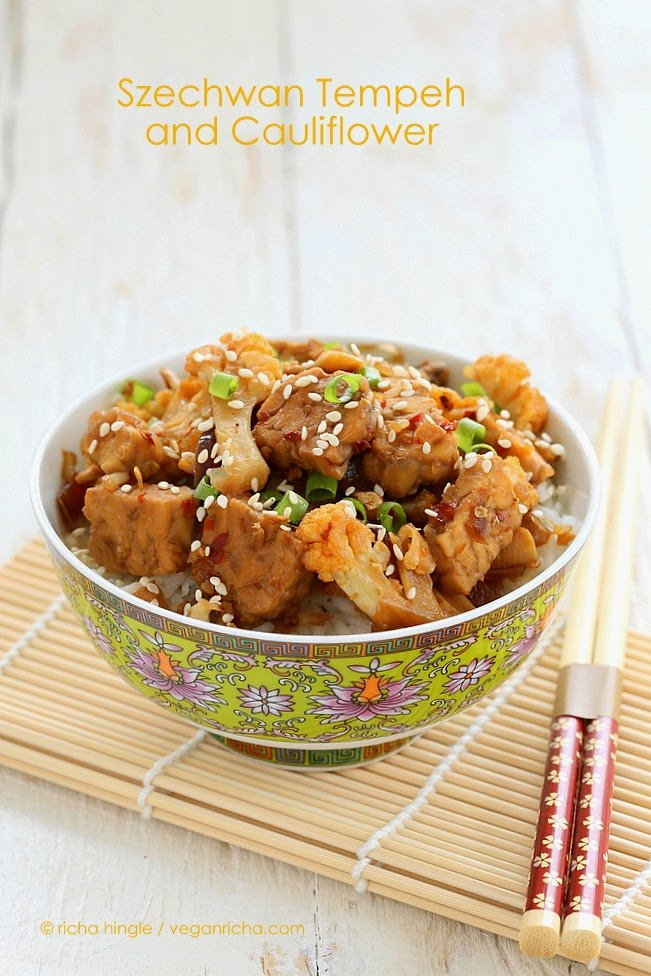 Vegan Szechwan Tempeh from One Dish Vegan