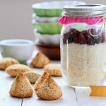 Coconut Macaroon Mix in a Jar. Glutenfree Vegan Recipe