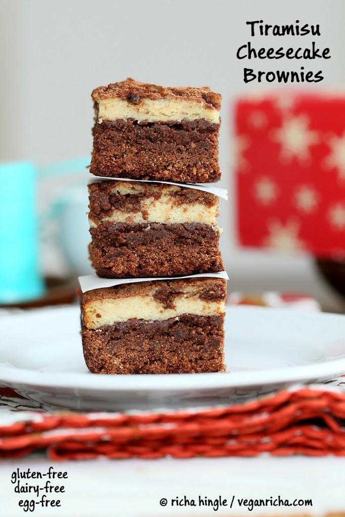 Tiramisu Cheesecake Brownies. Glutenfree Vegan Nutfree Recipe - Vegan ...