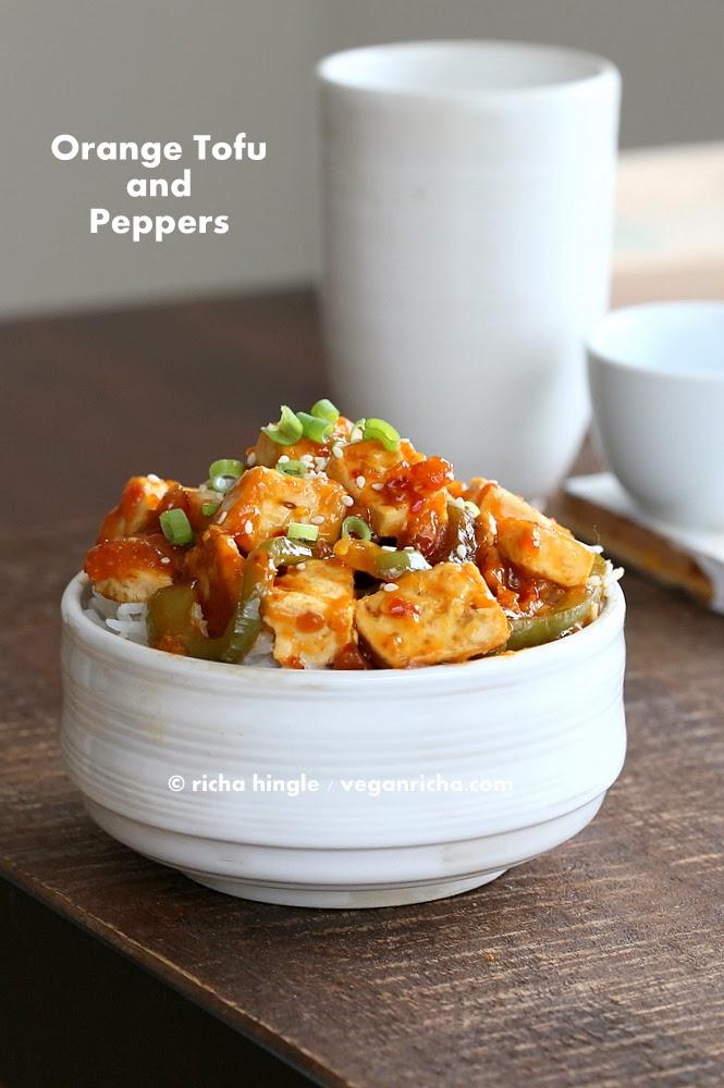 Spicy Orange Tofu | Vegan Richa