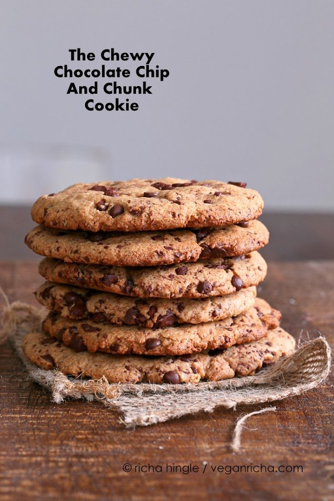 Vegan Giant Chocolate Chip & Chunk Cookie