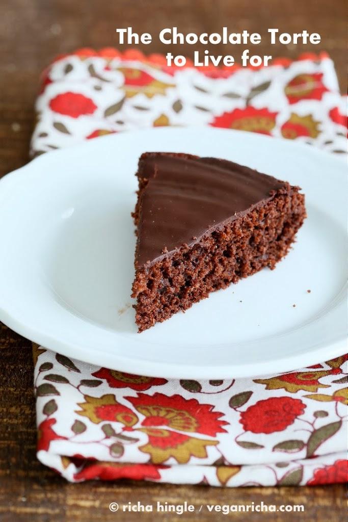 The Chocolate Torte from Vegan Chocolate