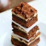Tiramisu Cheesecake Brownies. Glutenfree Vegan Nutfree Recipe