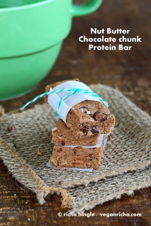 Almond Butter Chocolate Chunk Protein bar – PlantFusion Review