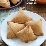 Baked Mung Dal Samosas and 12 Vegan Holi Recipes. Glutenfree Soyfree Options