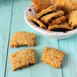 Chickpea Fennel Crackers (Chana Murmura Mathri). Vegan, glutenfree