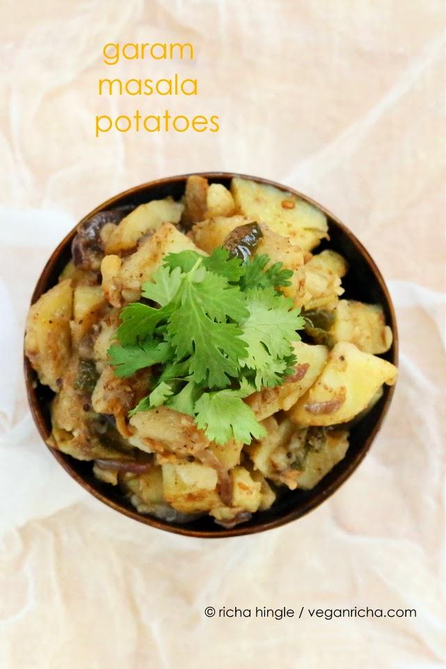 Garam Masala Potatoes