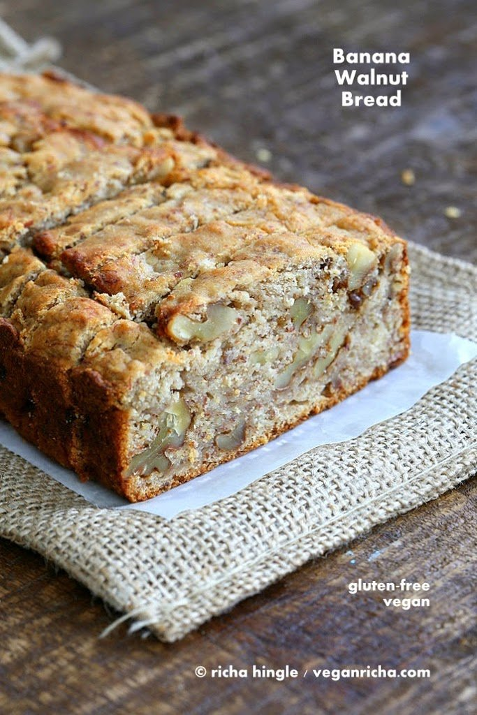 Banana Walnut Breakfast Loaf Gluten Free Banana Walnut