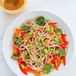 Empowered Noodle Bowl with Thai Peanut Sauce & Oh She Glows Book Review and Giveaway. Vegan Glutenfree