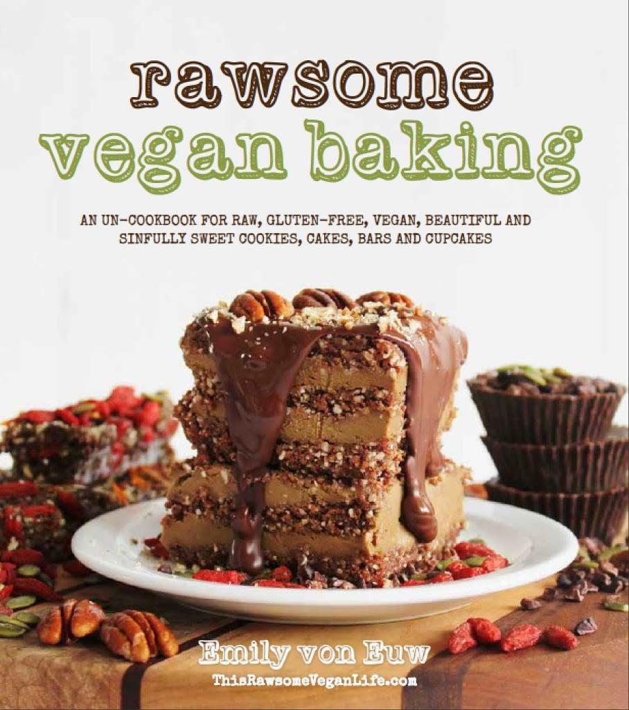 Almond Joys Recipe And Rawsome Vegan Baking Book Review