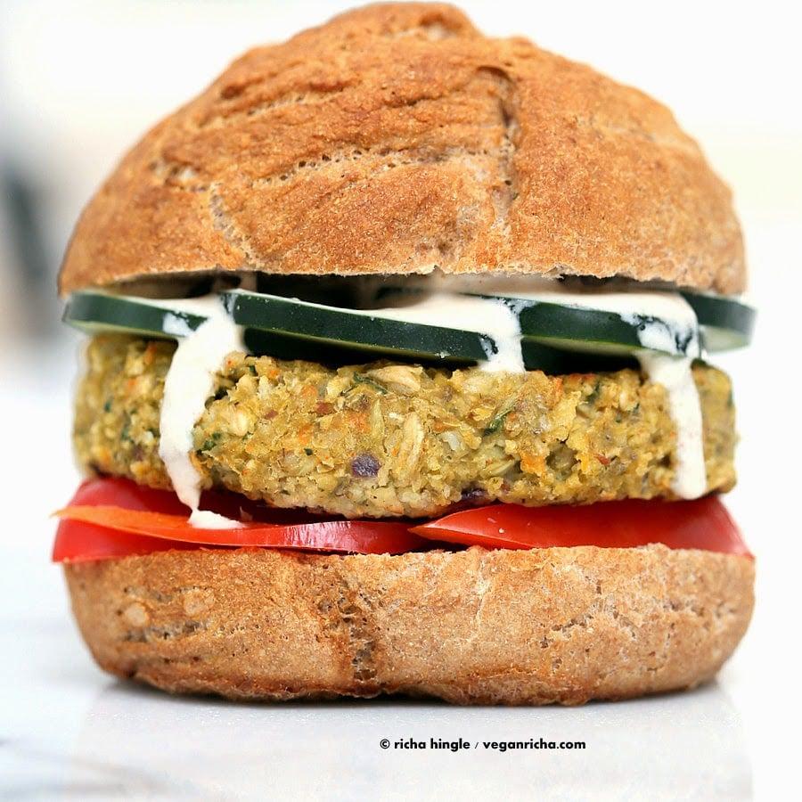 Vegan Grill-able Veggie Bean Burger