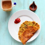 Besan Chilla /Puda (chickpea flour Omelette/pancake) and savory french toasts. vegan, glutenfree