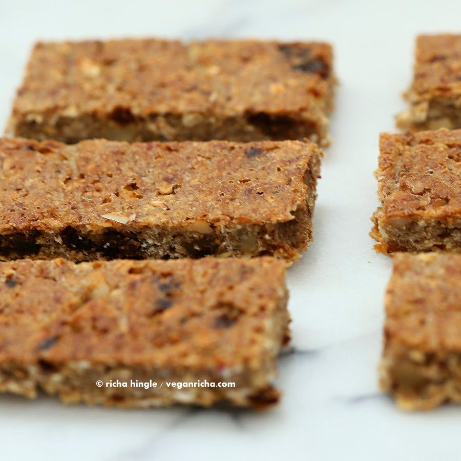Vegan Banana Nut food bars