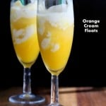 Orange Cream Floats & 22 Vegan July 4th Recipes. Gluten-free Soy-free options