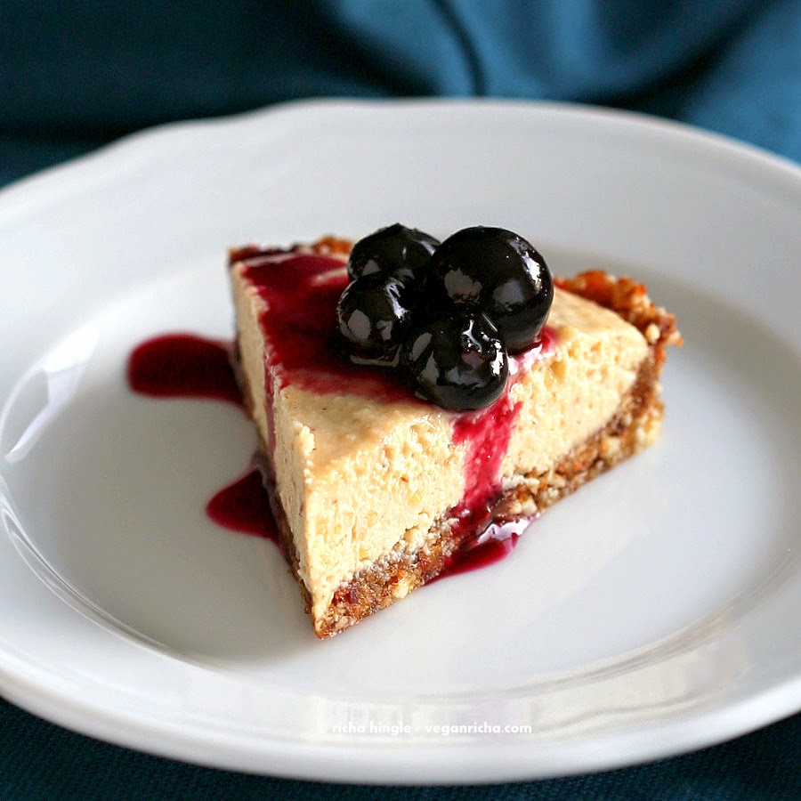 Blueberry Cheesecake, Choosing Raw Book Review and Giveaway. Vegan ...