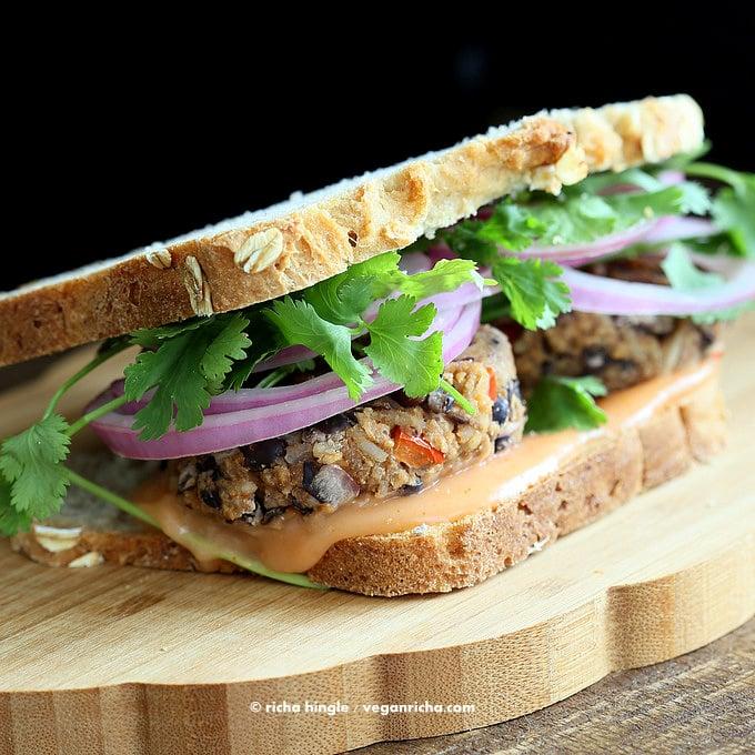 Bahn Mi Burger | VeganRicha.com