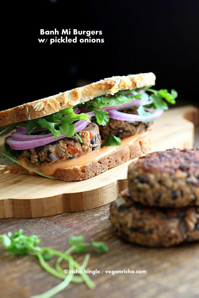 Vegan Banh Mi Burger