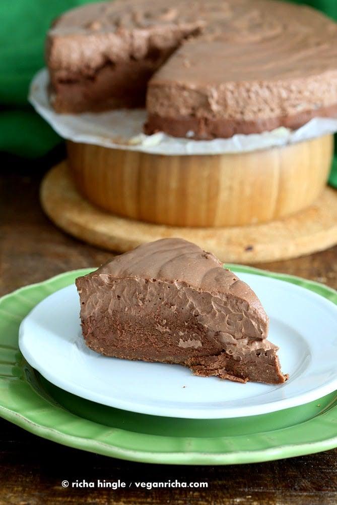 Dark Chocolate Mousse Cake Calories