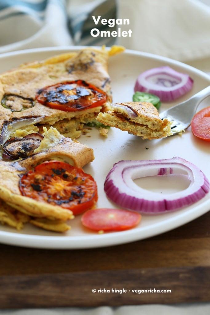 Chickpea flour Omelette