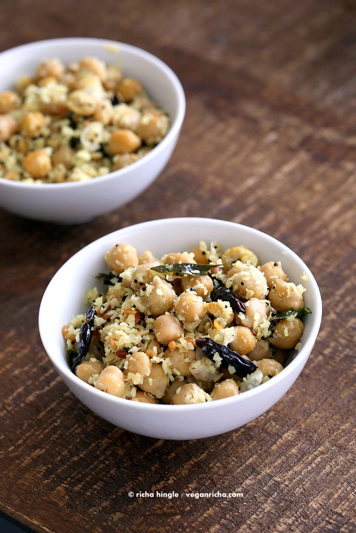 Chickpea Sundal | Vegan Richa