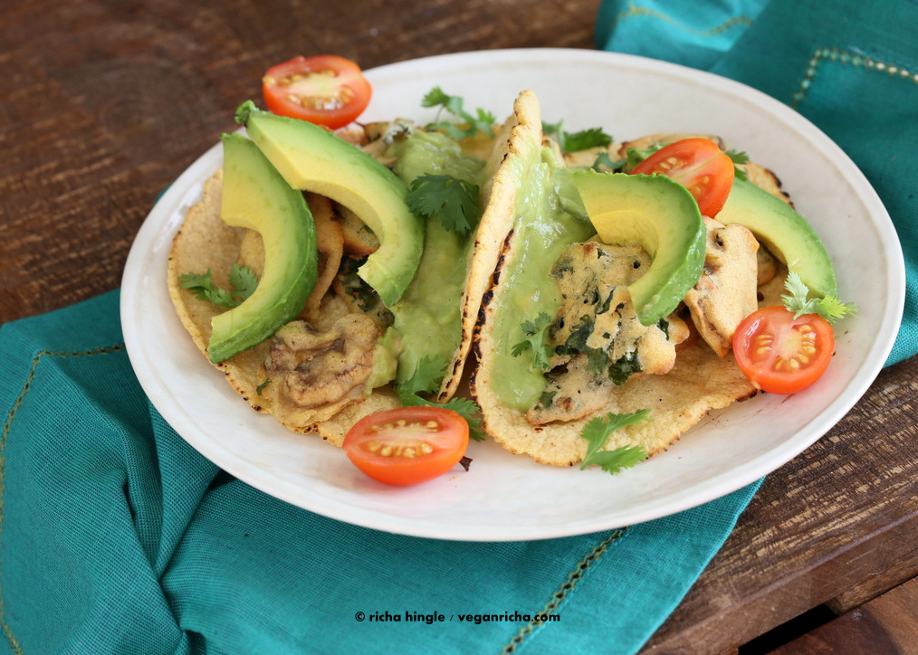 Crispy green Tacos