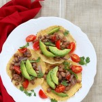 Sonoran Tacos from Vegan Tacos. Book Review and Giveaway