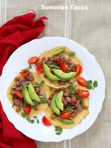 Sonoran Tacos   Vegan Richa