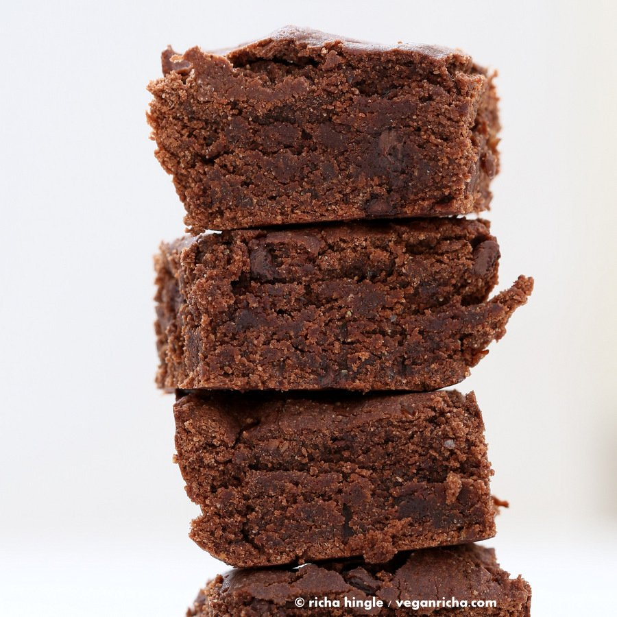 Vegan Coconut Flour Brownies | Vegan Richa