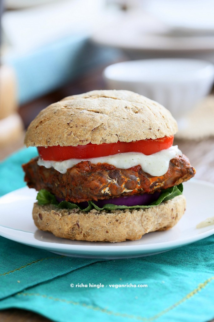 Vegan Buffalo Tempeh Sandwich | Vegan Richa