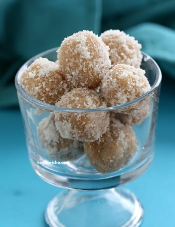 Coconut Ladoo | Vegan Richa