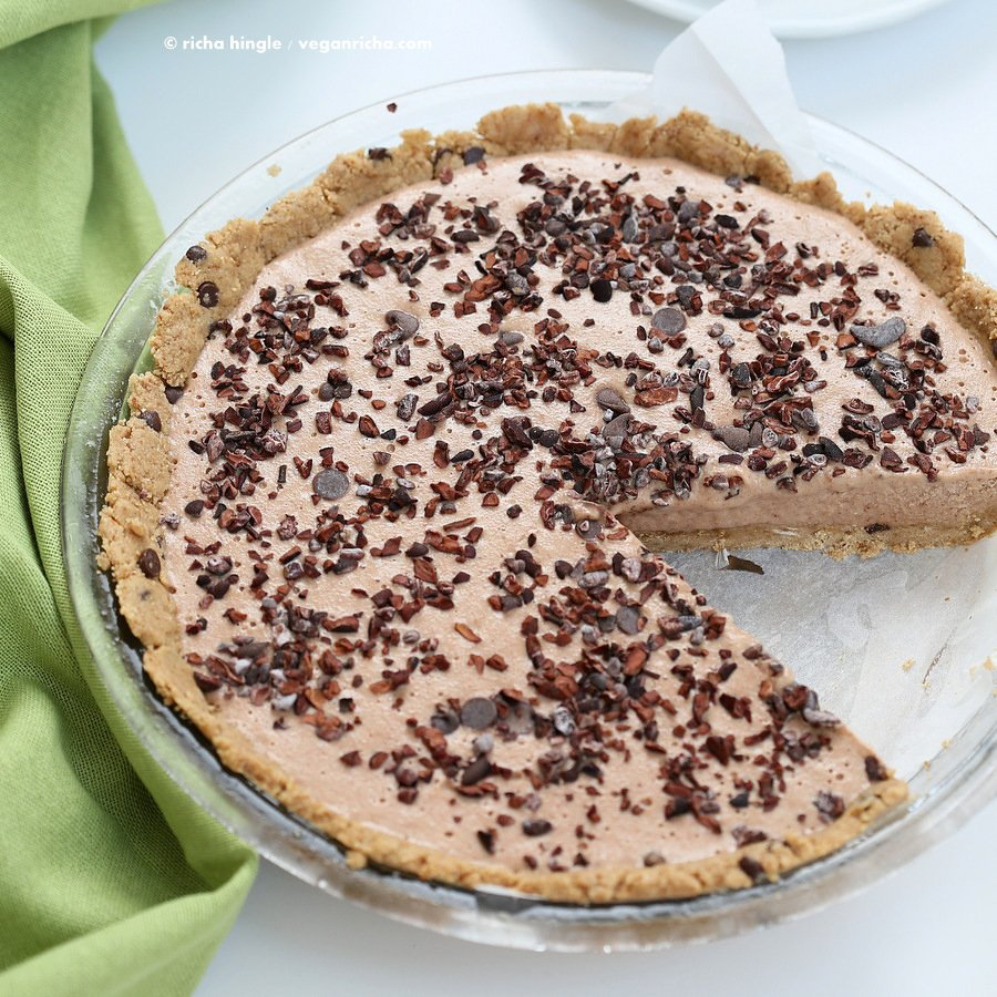 Vegan Cookie Dough Pie | Vegan Richa
