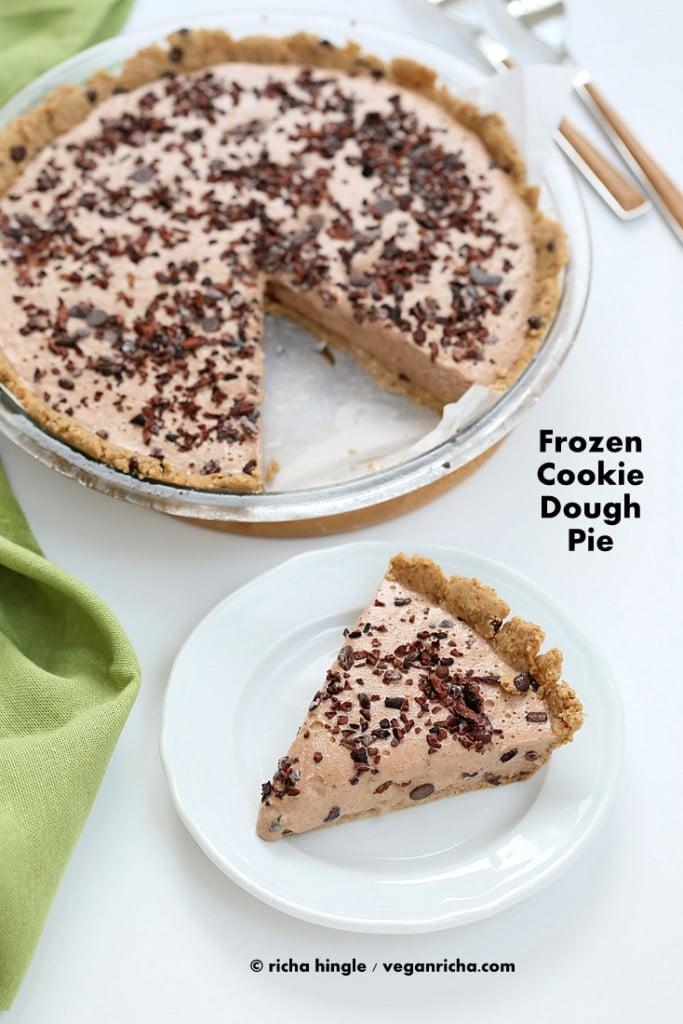 Vegan Cookie Dough Pie | Vegan Richa