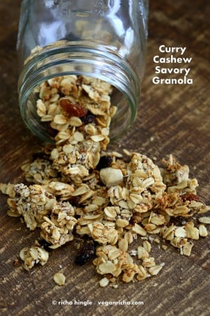 Curry Cashew Granola