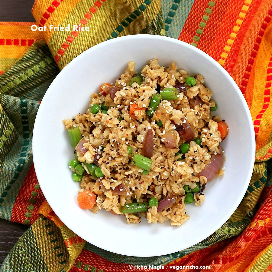 Stir-fried Veggie Oats