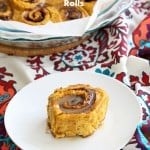 Vegan Pumpkin Cinnamon Rolls Recipe | Vegan Richa
