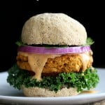 Sweet Potato Peanut Burgers | Vegan Richa #vegan #glutenfree #veganricha