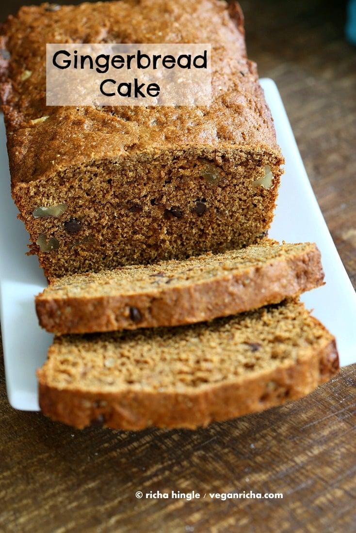 Vegan Gingerbread Cake   Vegan Richa