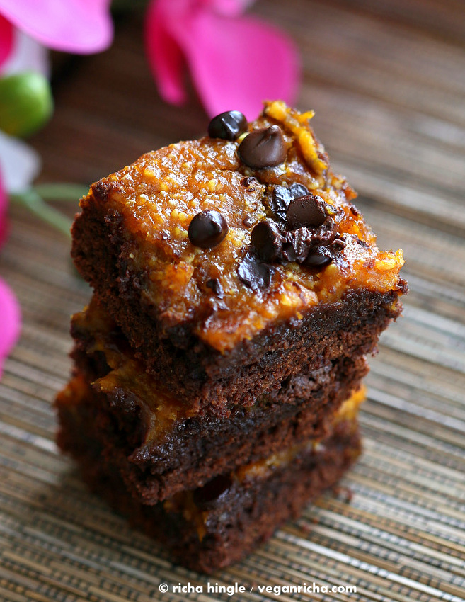 Vegan Pumpkin Mug Brownie Recipe — Dishmaps