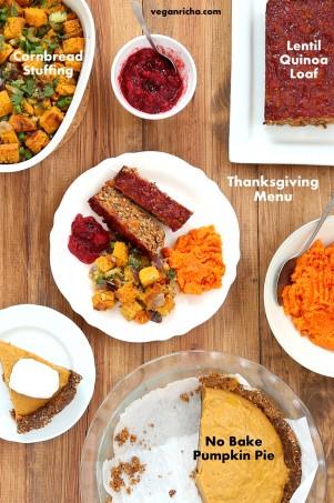Vegan Thanksgiving Menu | Vegan Richa #vegan #glutenfree #veganricha