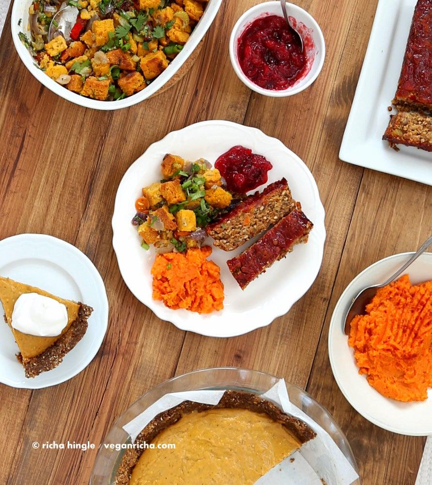 Vegan Thanksgiving Menu | Vegan Richa